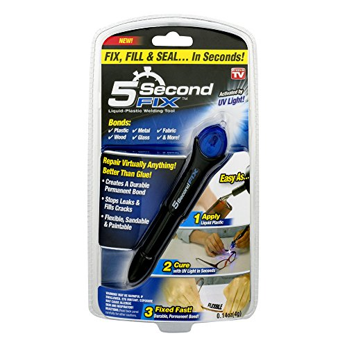 Ontel 5 Second Fix - Liquid-Plastic Welding Repair Tool, As Seen On TV