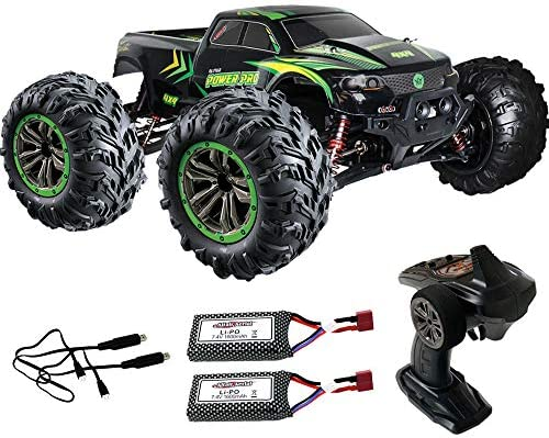 Altair 1 10 Large Scale Rc Truck With 30 Minutes Continuous Battery Life 48 Km Hr High Speed Remote Control Car 4x4 All Weather Off Road Rc Monster Truck Amazon Com Au Toys Games