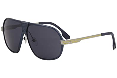 7ea3d34c60 Image Unavailable. Image not available for. Color  Diesel Men s DL0067 Metal  Oval Sunglasses ...