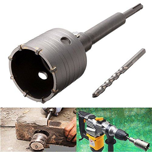 Price comparison product image 65mm Hole Saw Cutter Drill Bit with SDS Plus Shank for Concrete Cement Stone Wall