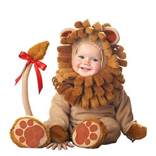 8 Kinds Animal Baby Costumes Halloween Costume Ideas For Toddler Girls & Boys For 7-24 Months (13-18 Months, Lion)