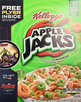 Apple Jacks Cereal, 21.7-Ounce Box