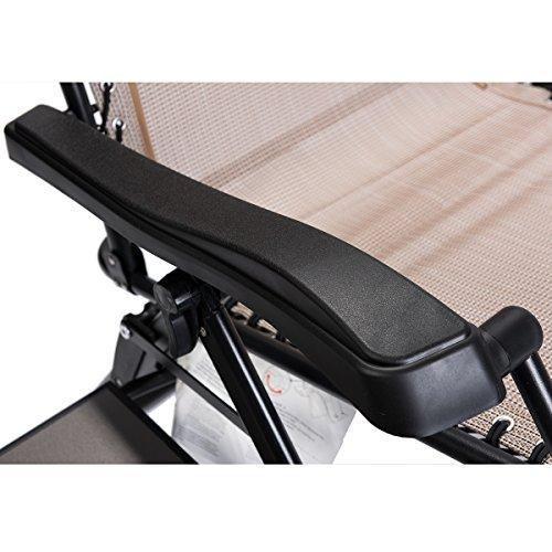 Sensational Timber Ridge Zero Gravity Locking Lounge Chair Oversize Xl Adjustable Recliner With Headrest For Outdoor Beach Patio Pool Support 350Lbs Machost Co Dining Chair Design Ideas Machostcouk