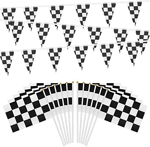 OOTSR Checkered Pennant Banner Plastic product image