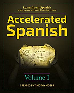 Accelerated Spanish fluent accelerated learning ebook product image