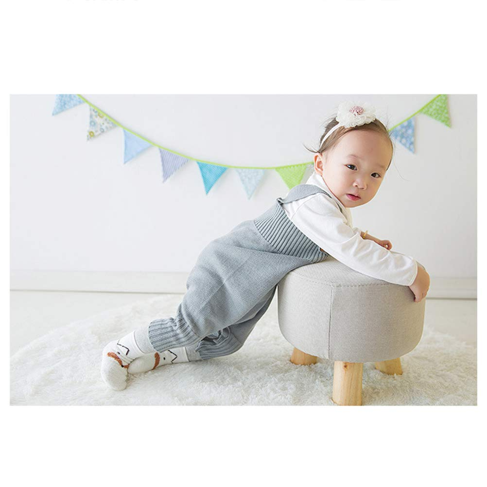 TENDYCOCO 3 Pairs Baby Infant Anti Slip Socks Winter Warm Cute Animal Fox Coral Velvet Socks Size XS