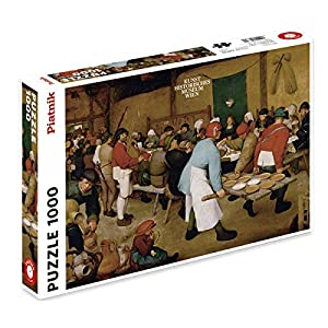 Piatnik Brueghel Puzzle Pasto Di Nozze 5483