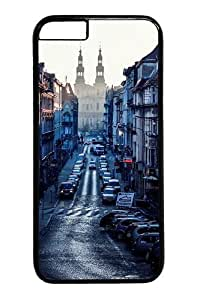 iphone 6plus 5.5 Case and Cover -poland car cities Custom PC Hard Case Cover for iphone 6plus 5.5 inch Black