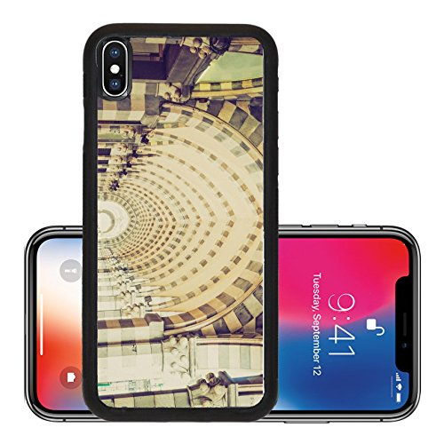 Liili Premium Apple iPhone X Aluminum Backplate Bumper Snap Case Vintage looking Via XX Settembre colonnade in Genoa Italy - Colonnades Stores