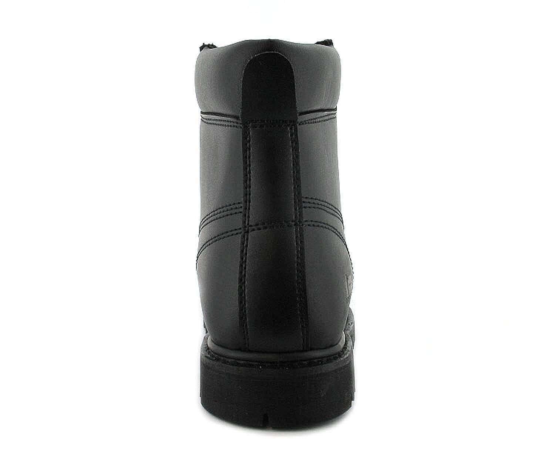 Tradesafe - Sicherheits Herren Stiefel Stahlkappen Sicherheits - Schnürsenkel Schuhe 22c438