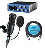 Presonus Audiobox USB 96 Audio Recording Interface -INCLUDES Review and Comparison