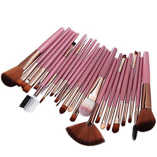 Beladla Brochas Lady Eyeliner Eyebrow 25 Brocha De Kabuki Profesional Maquillaje Do Set Blush Conjunto Cosmetic Pinceles rSCqrTx
