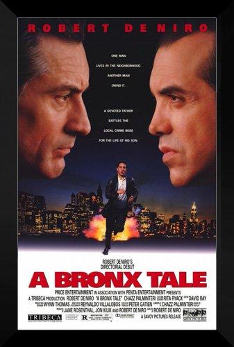 Amazon.com: A Bronx Tale Framed 27 x 40 Póster de la ...
