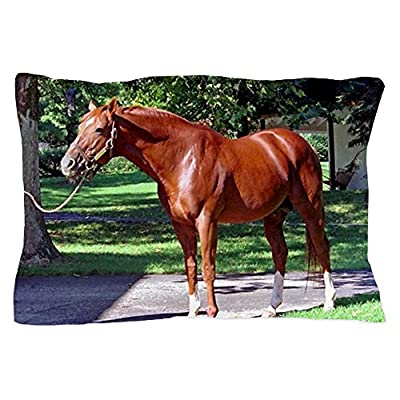 CafePress Unique Design SECRETARIAT Pillow Case - Standard