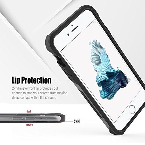 obliq obip6s skyp05Skyline Advance cas avec support de Place pour Apple iPhone 6/6S Rose/Or