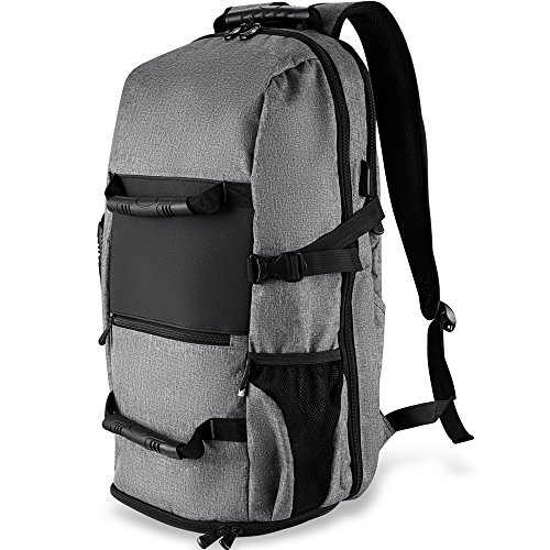 Travel Outdoor Computer Backpack Laptop bag small(grey) - 6