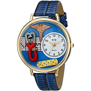 Whimsical Watches Unisex G0620059 Nurse 2 Analog Display Japanese Quartz Royal Blue Watch