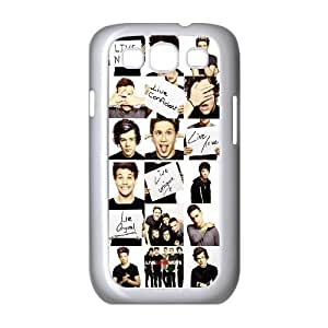 [AinsleyRomo Phone Case] For Samsung Galaxy S3 -One Direction Music Band-Style 14