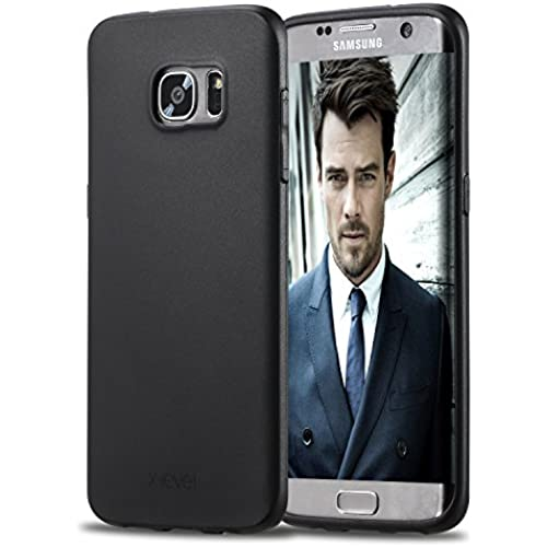 Samsung Galaxy S7 Edge Case,X-Level [Guardlan] Series Soft TPU Back Cover Phone Case for Samsung Galaxy S7 Edge Black Sales