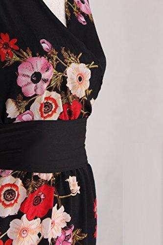 3ca26fcfc Floral Maxi Dress Beach Party Wedding Guest Summer Long Boho Plus Size Teen  Junior Women Sundress at Amazon Women's Clothing store: