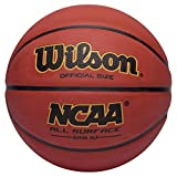 Wilson NCAA All-Surface Rubber Official Basketball (29.5'')