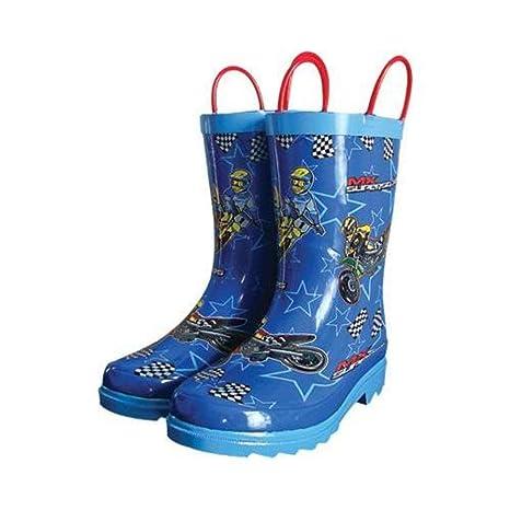 Amazon.com  Smooth MX Superstars Youth Rain Boots 171fbf6b09e2