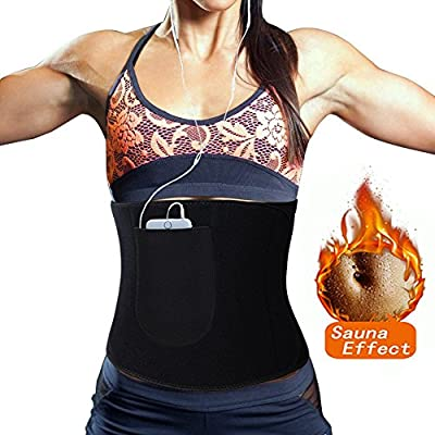Lelinta Neoprene Sauna Suit - Sauna Tank Top Vest Adjustable Shaper Trainer Belt