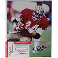 Tom Rathman Signed Autographed Glossy 8x10 Photo San Francisco 49ers - COA Matching Holograms photo