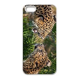 Lepaord Family Hight Quality Plastic Case for Iphone 5s by icecream design