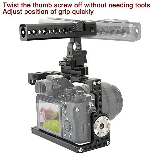 NICEYRIG A7III/ A7RIII/ A7II/ A7RII/ A7SII Camera Cage Kit