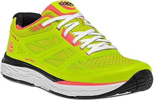 Topo Athletic Fli-Lyte 2 Running Shoes - Women's B0711M37V3 9.5 B(M) US|Green/Coral