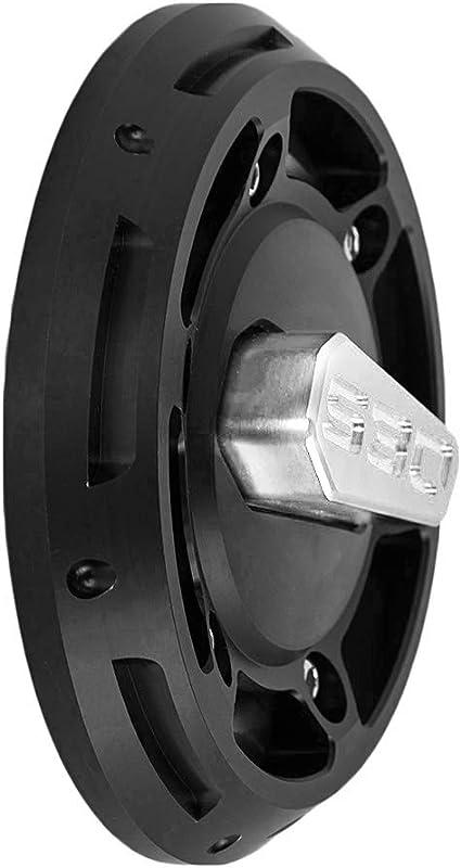 USPANDI 1 Paire de caoutchouc de frein P/édale dembrayage for Pad Cover Ford Transit Connect 2002-2014 Cougar 1998-2001 accessoires automobiles Color : Black