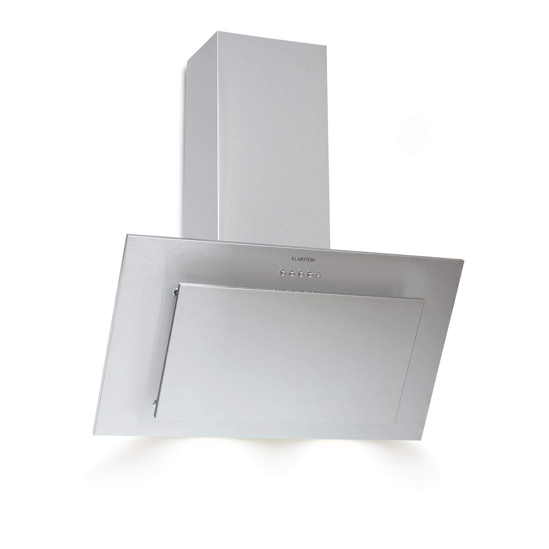 Klarstein Klarstein Athena Campana extractora • Extractor de humos • 60 cm • 350 m³/h • 65 W • Filtro de grasa de aluminio • Panel de botones • Solo 55 dB • Acero inoxidable • Ventilación • LED