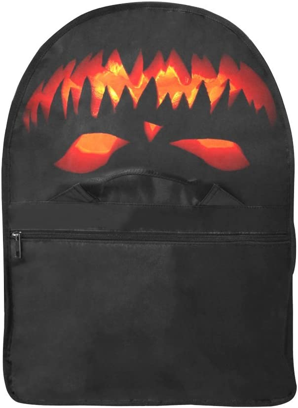 Wokfox Custom Happy Halloween 2018 Oxford Fabric Laptop Messenger Bags Designed to Protect Laptops up to 15.7 Inches