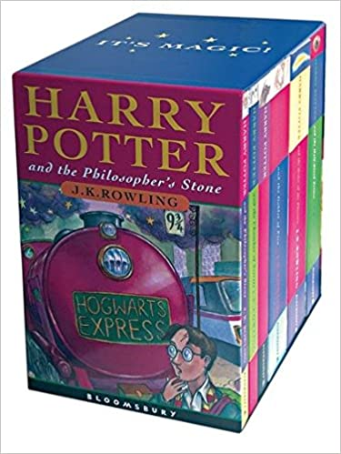Harry Potter Boxed Set: Childrens edition: Amazon.es: Rowling ...