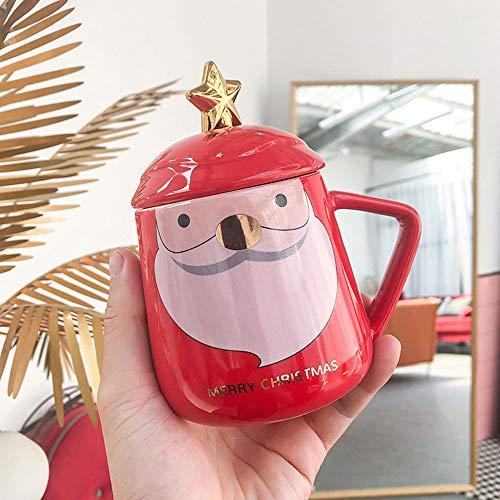 JUNPE Red Penguin Big Belly Coupe En Céramique Coupe Bureau D'affaires Tasse D'eau Mugs À Café Tasse De Lait Tasse En…