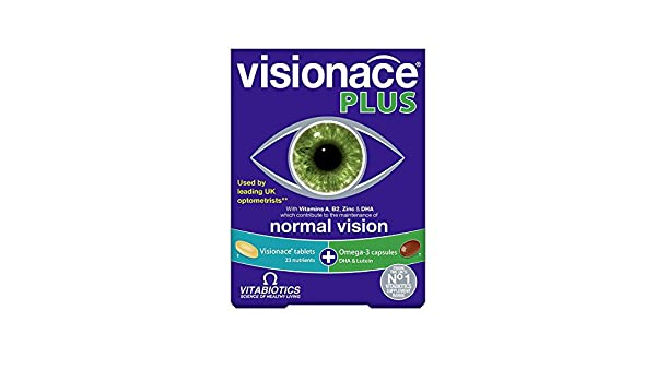 Amazon.com: Vitabiotics Visionace Plus-28Tabs+28Caps 56Tabs/C (2 Pack): Health & Personal Care