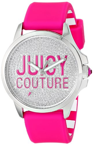 Juicy Couture Women's Pink Silicone Strap Watch - 4