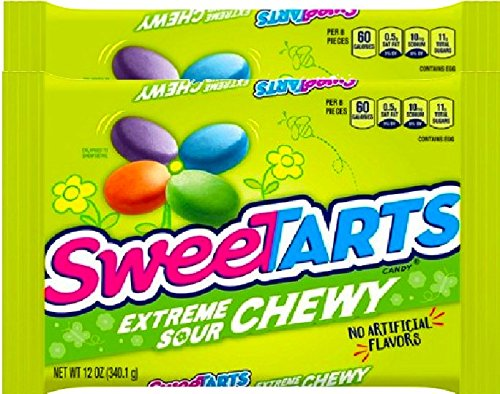 NEW SweeTarts Extreme Sour Easter Chewy Candy - 12oz