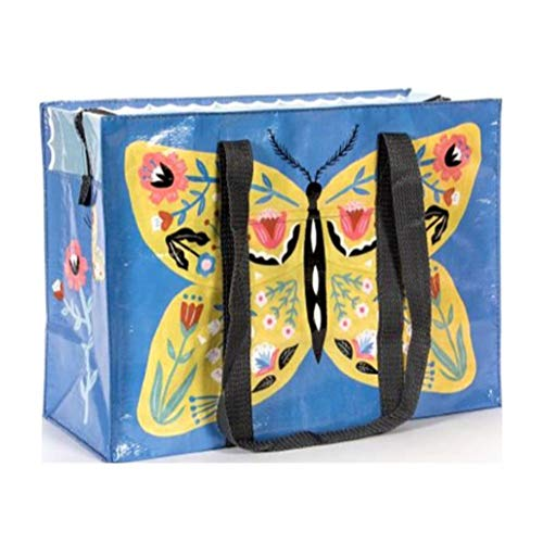 Blue Q Bags, Shoulder Tote, Butterfly