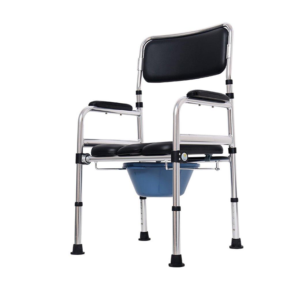 Mariny 障害のあるトイレで椅子に座っている高齢者は、トイレ椅子の浴室の椅子 B07DGTHPR3