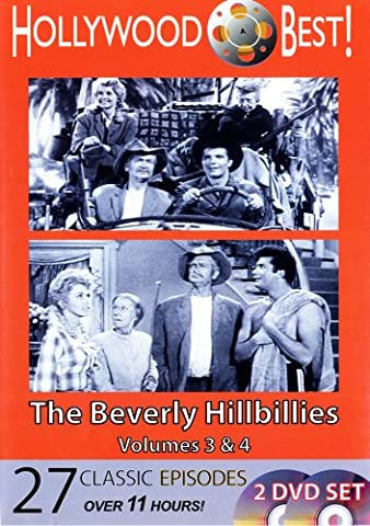 Hollywood Best! The Beverly Hillbillies, 2 DVD Set Volumes 3 & 4 (Beverly Hillbillies Volume 2)