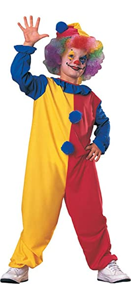 Rubies Kids Clown Costume Age 8-10 Years