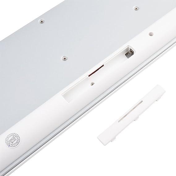 Amazon.com: eDealMax suspendido teclado mecánico tacto 2.4G ratón inalámbrico Kit Azules Para ordenador: Electronics
