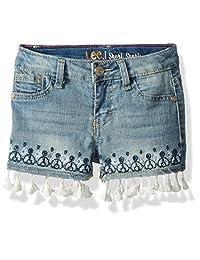 Lee pantalón Corto Festoneado para niñas