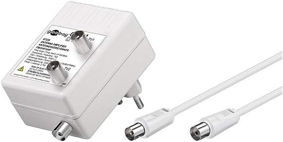 Wentronic 67226 - Amplificador de antena (3 W, 230 V, 50 Hz ...