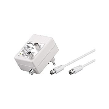 Wentronic 67226 - Amplificador de antena (3 W, 230 V, 50 Hz), blanco: Amazon.es: Electrónica