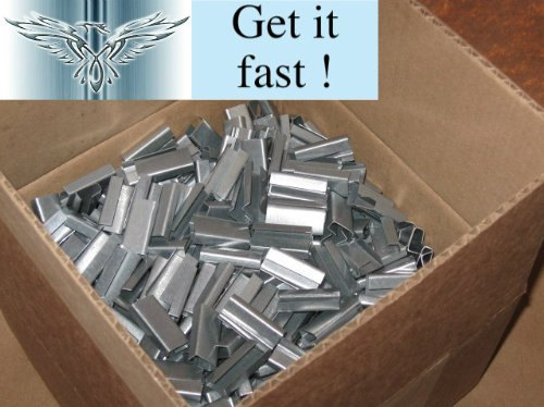 1000 steel hand strapping banding seals 12mm x 25mm, FREE Express Delivery Phoenix Supplies