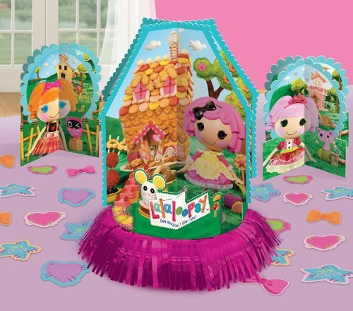 Adorable Lalaloopsy Birthday Party Table Decorating Kit (23 Pack), Multi Color, 13.7