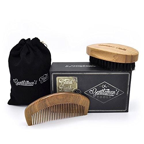 beard brush comb set hair beard primp. Black Bedroom Furniture Sets. Home Design Ideas